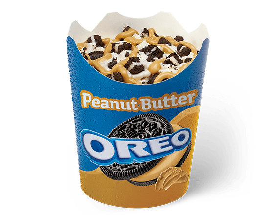 McFlurry® Oreo Crema de cacahuete