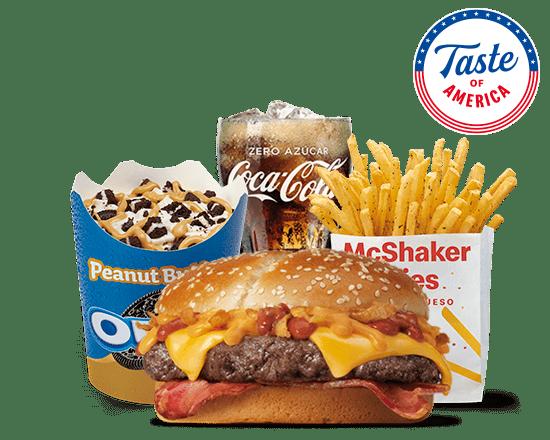 McMenú mediano Taste of America