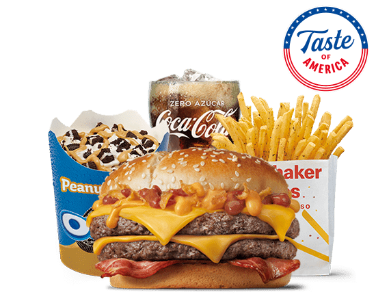 McMenú doble mediano Taste of America