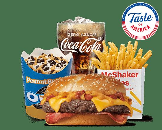 McMenú grande Taste of America