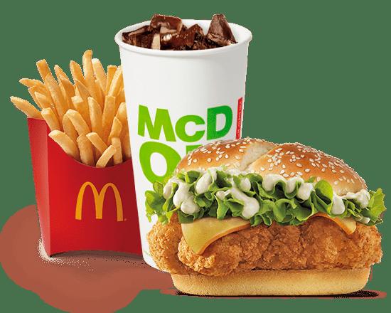 McMenú American Style Chicken
