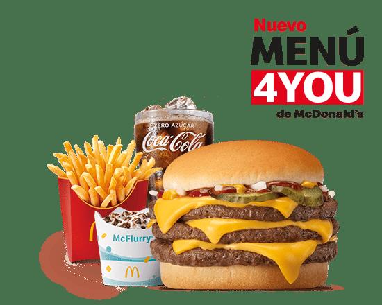 Menú4You Triple + Complemento